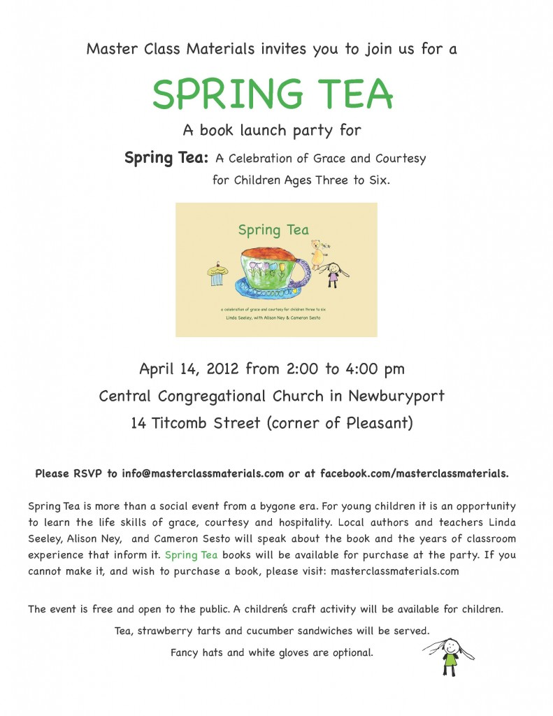 Spring Tea Invite