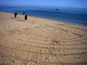 Making a Labyrinth