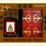 Notre Dame Stamp